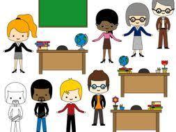 teacher desk clipart. Brilliant Teacher Meet The Teachers Clip Art  Multicultural Clipart Desk  Graphics On Teacher Desk Clipart T