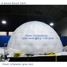 Inflatable Room Online Shop Free Shipping 46m Dia 23mh Small Inflatable Igloo