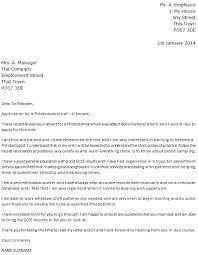 Phlebotomist Cover Letter Example Icover Org Uk