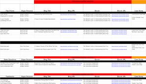 Marketing Content Library Sales Marketing Asset Spreadsheet 98togo