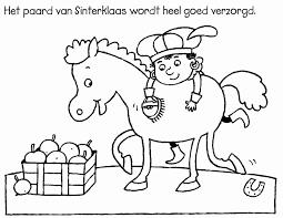 Kleurplaat Masker Mooi Kleurplaat Sinterklaas Peuters Nt79