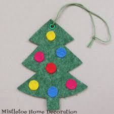 Easy Felt Christmas Crafts  Kids U0026 Preschool CraftsEasy Christmas Felt Crafts