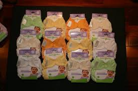 Bumgenius Freetime Cloth Diapers 6 Pack Neutral Colors Snaps