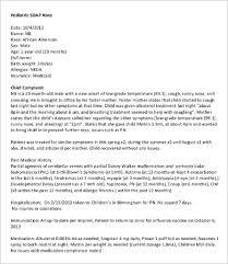Soap Note Format Soap Note Template 10 Free Word Pdf Documents Download Free