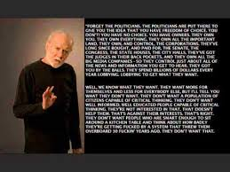 George Carlin American Dream Quote Best of STEPPING OUT OF THE DARKNESS WGeorge Carlin Quote ©24