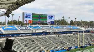 Chargers Say Tarp Covered Seats In Nfls Smallest Stadium