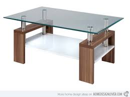 brilliant design for glass top coffee table ideas 15 stylish rectangular glass top coffee tables home