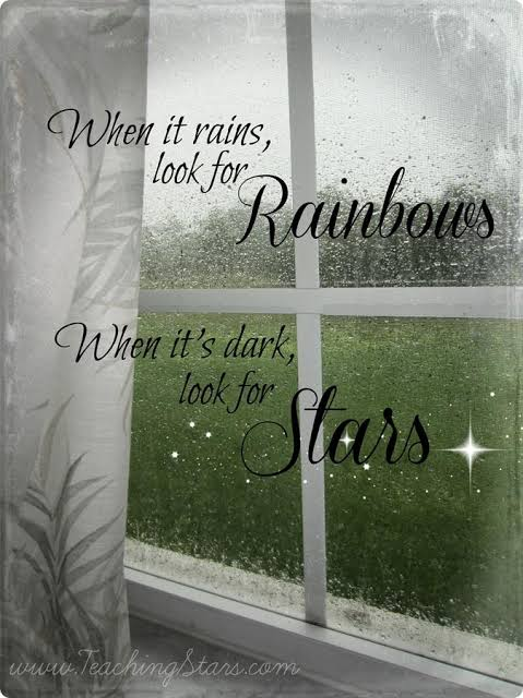 positive rainy day quotes