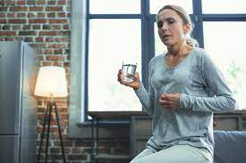 can stress cause postmenopausal