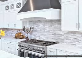 Small Picture White cabinet marble countertop modern subway kitchen backsplash