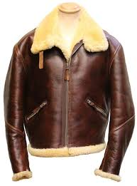 shearling flight jacket