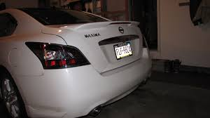 Nissan Altima Spoiler Brake Light Oem Spoiler Installed On 2012 Maxima Maxima Forums