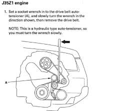2003 Honda Accord Honda Accord Serpentine Belt  Engine Cooling also 2004 Honda Accord Lx Diagram 2004 Honda Accord Lx Ac Diagram additionally 2005 Odyssey Belt Tensioner Bolt Keeps Breaking Off in addition 97 honda accord ex 4 cyclinder having trouble replacing the in addition Need a serpentine belt diagram   AcuraZine   Acura Enthusiast besides SOLVED  Need serpentine belt and pully diagram for 1999   Fixya likewise Broken AC in my Civic   Runnells Family Blog furthermore  in addition 2008 honda accord serpentine pulley help   Honda Tech   Honda furthermore 1992 Honda Accord Serpentine Belt Routing and Timing Belt Diagrams besides Tech Tip  Quiet Down a Chirping Honda. on 2005 honda accord serpentine belt repment