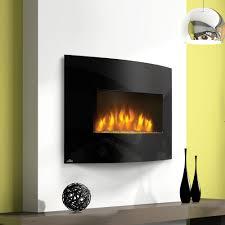 wall mount fireplace decor