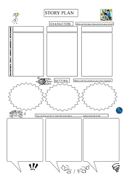 How To Plan A Story Template Story Plans Teaching Ideas