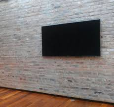 7 best tv images on fireplace ideas tv mounting and within mount brick wall idea
