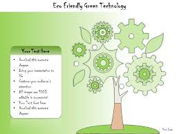 Green Layouts 1113 Business Ppt Diagram Eco Friendly Green Technology
