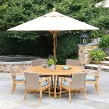 outdoor teak umbrella 10 ft octagon