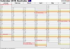 planning calendar template 2018 australia calendar 2018 free printable excel templates