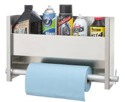 1 Shelf Wall Cabinet System with Paper Towel Holder & Accessories
