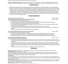 Military To Civilian Resume Template Military To Civilian Resume Template 33