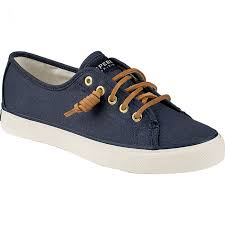 Sperry Seacoast Canvas Shoe Womens Navy