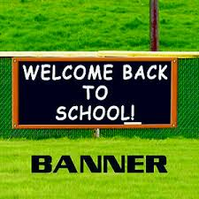 Details About Welcome Back To School Classroom Teacher Student Banner Sign