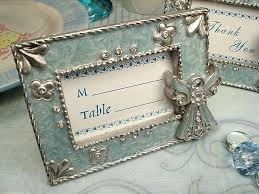angel placecard frame
