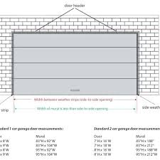 Standard Garage Door Sizes Single • Garage Doors Design