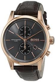 hugo boss men s watch chronograph quartz leather band 1513281 hugo boss men s watch chronograph quartz leather band 1513281