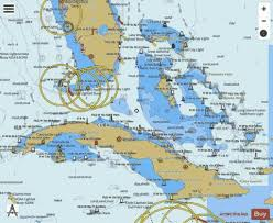 Florida Depth Chart Straits Of Florida And Approaches Marine Chart