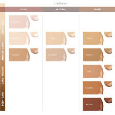 Glo Minerals Colour Chart Glo Skin Beauty Luminous Liquid Foundation Spf 18 10 Shades Sheer Coverage Dewy Finish 1 Fl Oz