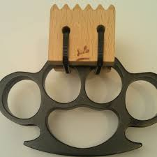 Wooden Knuckles Knuckle Duster Meat Tenderizer 5 Steps With Pictures