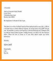 9 10 Verification Letter From Employer Wear2014 Com