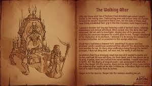 walking journal adventurers journal the walking altar ultimate adom