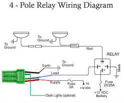 4 wire relay diagram facbooik com 12v Relay Wiring Diagram Spotlights cole hersee relay wiring diagram vdc relay wiring diagram images 12V Relay Schematic