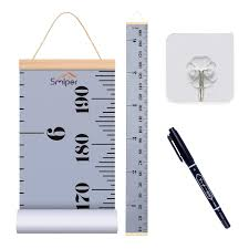 Amazon Com Smlper Growth Chart For Kids Roll Up Height