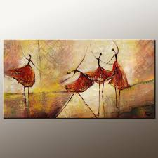 Painting Canvas For Living Room Abstract Painting Dining Room Wall Art Love Birds Painting