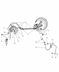 2010 dodge journey hydraulic control unit tubes front diagram i2241839