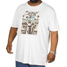 Ben Sherman Headlamp Badges T Shirt White