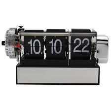 mktime auto flip alarm clock hot cool desk clocks original
