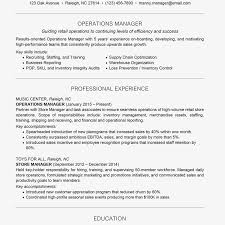 Management Resume Examples And Writing Tips