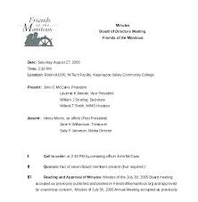 Corporate Meeting Minutes Form Annual Corporate Meeting Minutes Template Small Business Pdf