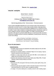 cover letter executive resume format executive resume format 2014 best executive resume format