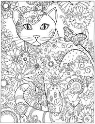 cats for coloring. Interesting Coloring Creative Haven Cats Coloring Book With For
