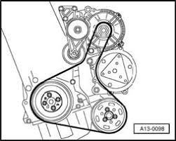 serpentine belt configuration for vw jetta liter fixya there you go