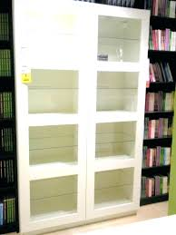 bookcases ikea glass door bookcase bookshelves with doors bookcases awesome appealing new empty within breathtaking