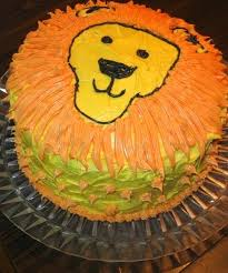 Kids Cake Design Lion Cake Kids Cake Designs
