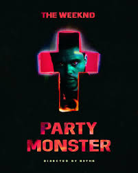 the weeknd wallpaper called party monster poster