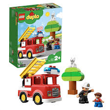 Lego Duplo Light And Sound Fire Truck Lego 10901 Duplo Town Fire Truck With Light And Sound And